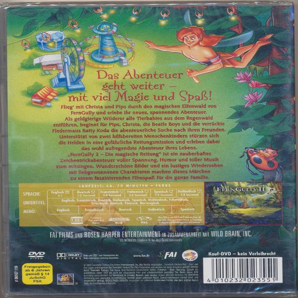 FernGully 2 Die magische Rettung DVD