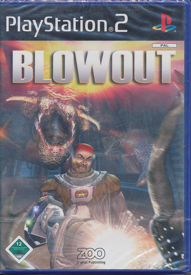 Ps 2 Spiel Blowout Neu