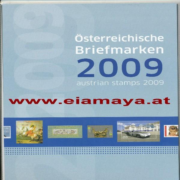Marken Jahreszusammenstellung der Post 2009