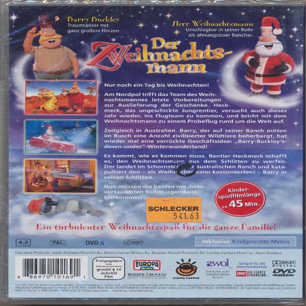 Der Zweihnachtsmann DVD