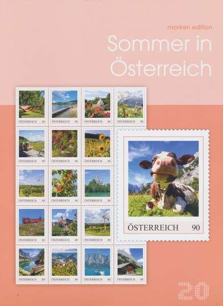 Sommer in Österreich Marken Edition 20