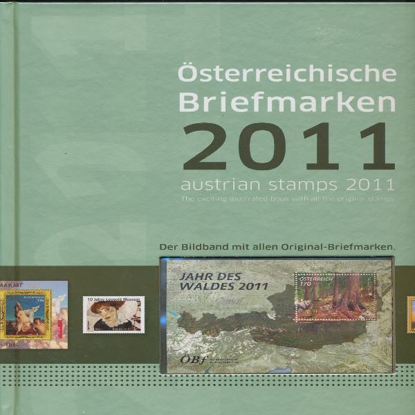 Marken Jahrbuch der Post 2011 Österreich