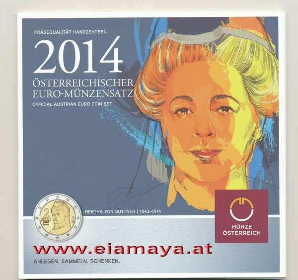 2014 offizieller Kursmünzensatz KMS Mintset