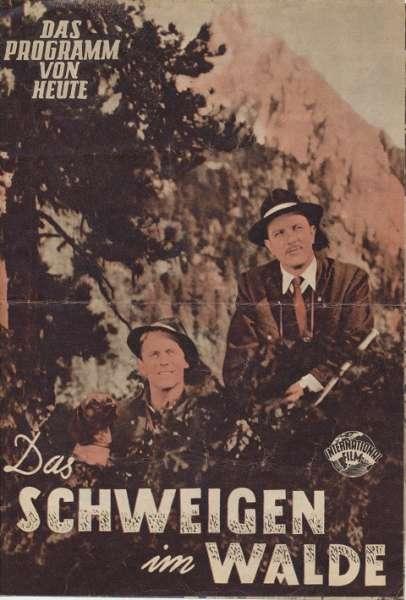Schweigen im Walde Nr.386-1955 Das Programm von Heute