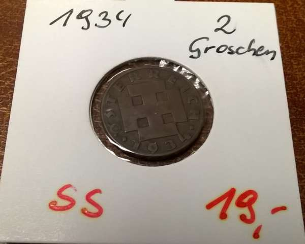 2 Groschen 1934