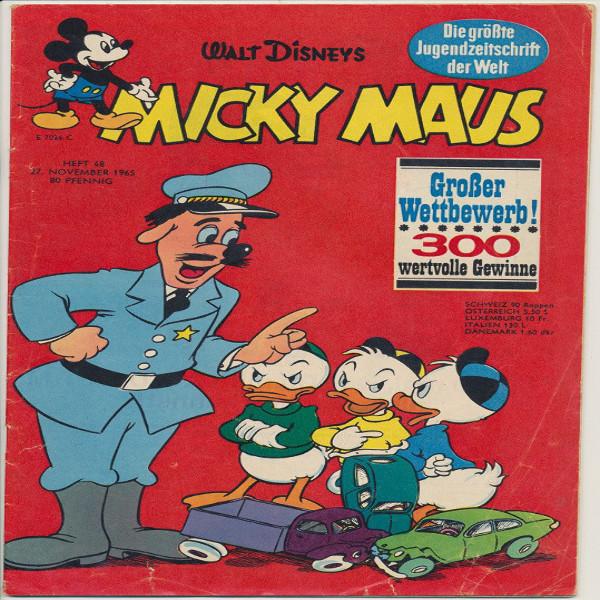 Micky Maus Nr. 48 /1965
