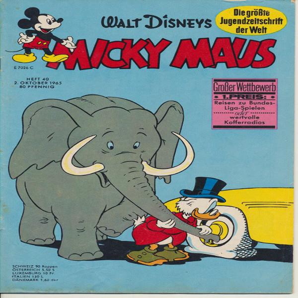 Micky Maus Nr. 40 /1965