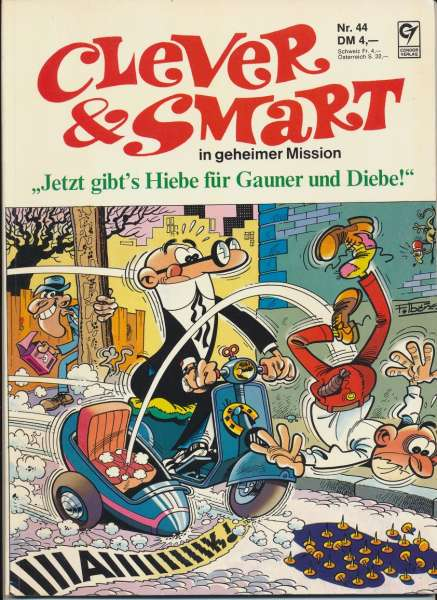 Clever & Smart in geheimer Mission Nr. 44