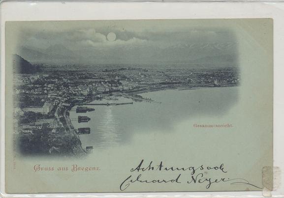 Gruss aus Bregenz ca.1899