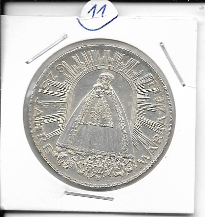 ANK Nr. 11 825 Jahre Mariazell 1982 500 Schilling Silber Normal