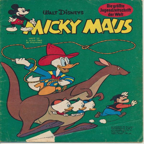 Micky Maus Nr. 23 /1965