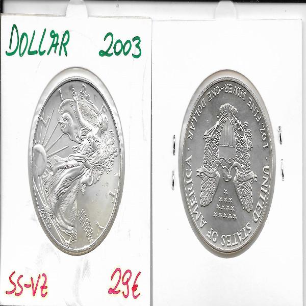 1 Dollar Silber Eagle Unze 2003