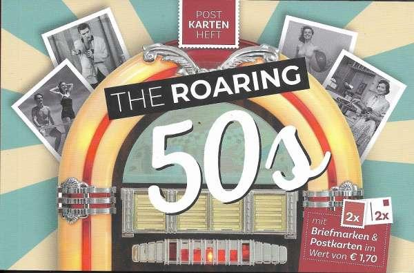 The Roaring 50s Postkartenheft mit 2 Marken