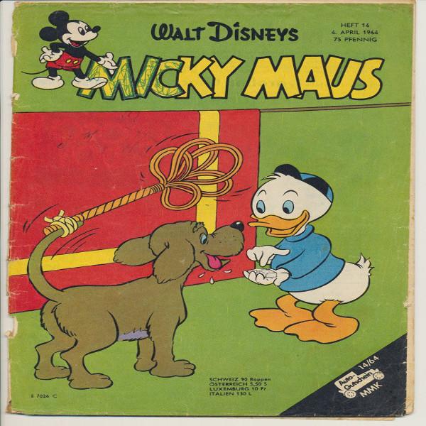 Micky Maus Nr. 14 /1964