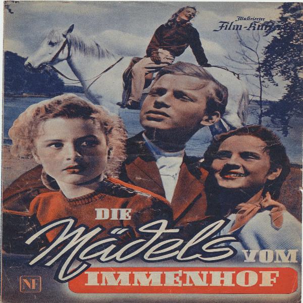 Illustrierter Film - Kurier Die Mädels vom Immenhof Nr 2339/1955