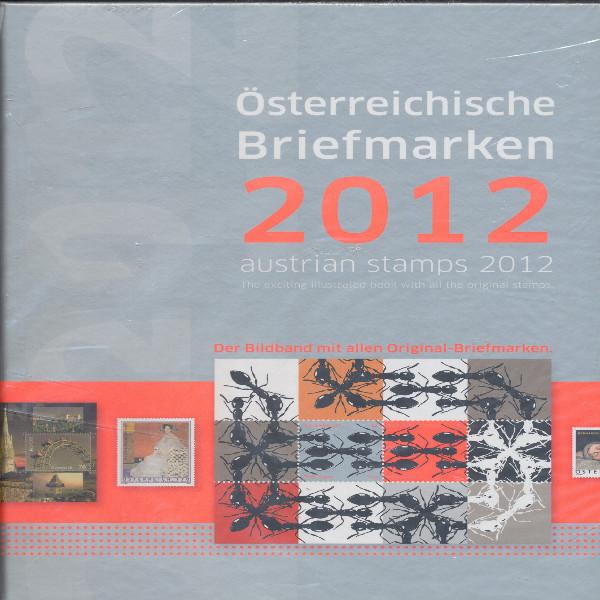 Marken Jahrbuch der Post 2012 Österreich