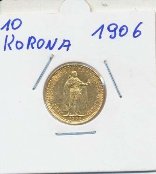 10 Korona 1906 KB Franz Joseph I Gold