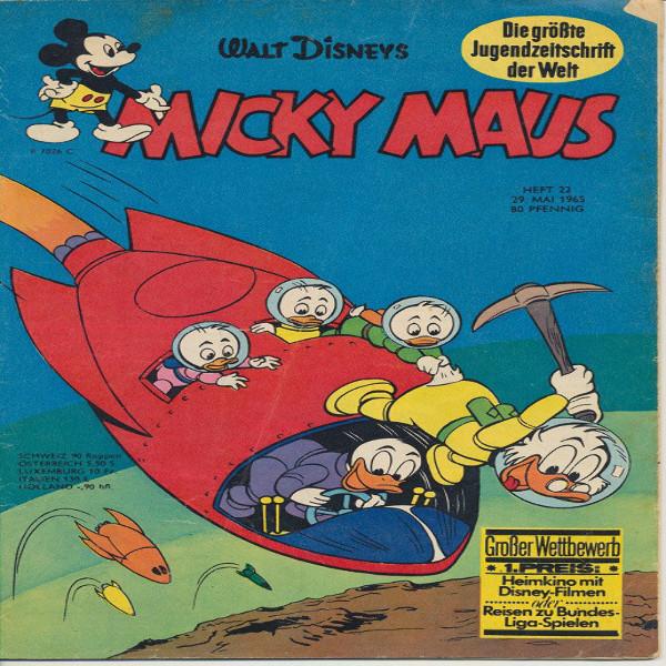 Micky Maus Nr. 22 /1965