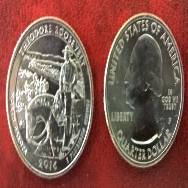 USA 25 Cent 2016 P Theodor Roosevelt (33)