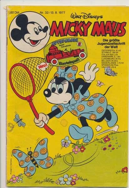 Micky Maus Nr. 32/1977