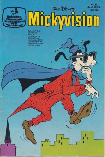 Mickyvision Heft Nr. 6/1975