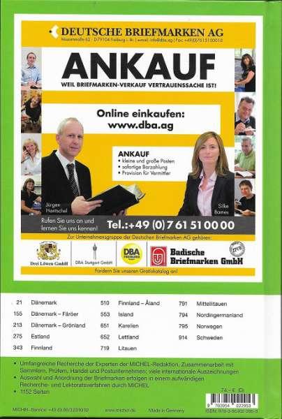 Michel Europa 5 - 2019/20 Nordeuropa 104. Ausgabe