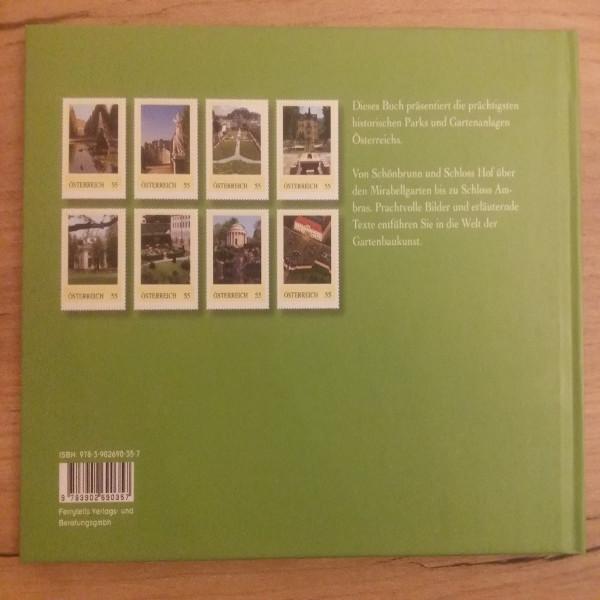 Briefmarkenbuch Die schönsten Parks und Gärten in Österreich mit 8 exklusiven Marken