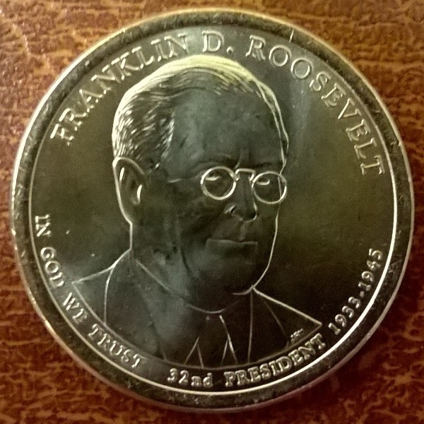 USA 1 Dollar 2014 P Franklin D. Roosevelt (32)