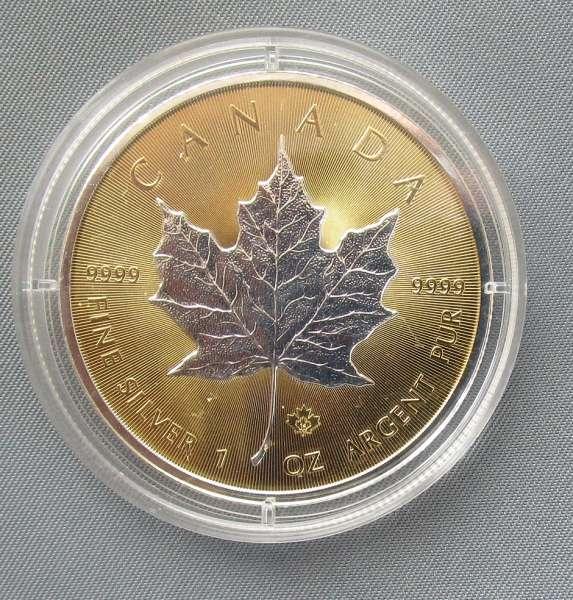 CANADA 1 Unze 5 DOLLAR Canada Dollar 2014 Maple Leaf 24 Karat