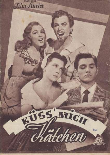 Küss mich Kätchen Nr.1929 Illustrierter Film - Kurier