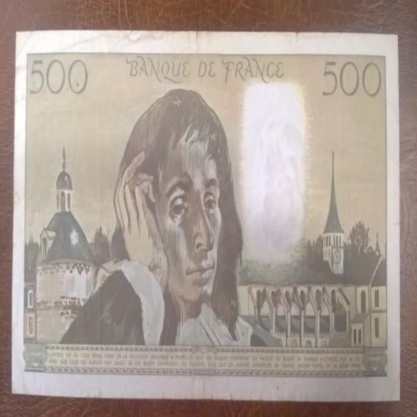 500 Francs 6.8.1992
