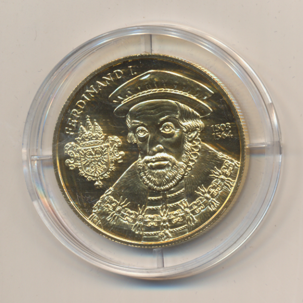 20 EURO MÜNZE - Die Neuzeit 2002 24 Karat Vergoldet Silber