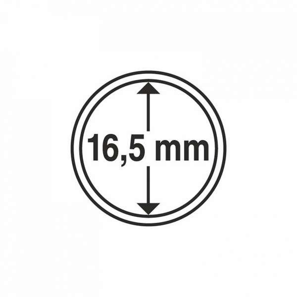 MÜNZKAPSELN CAPS 16,5 MM, 10 ER PACK