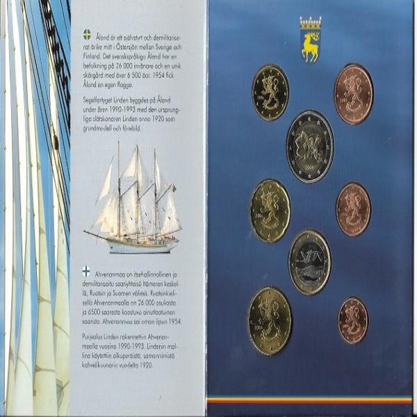 Finnland Aland 2006 Euro KMS Kursmünzensatz Finland BU set Åland Inseln