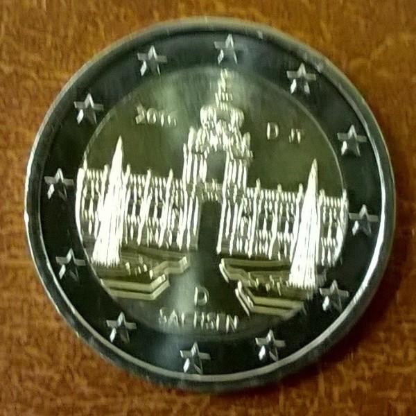 2 Euro Deutschland 2016 Sachsen