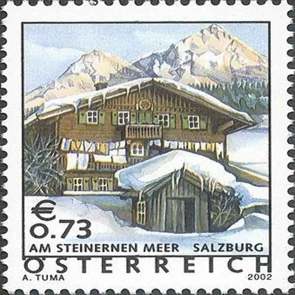 ANK 2399 Ferienland Österreich: Steinernes Meer / Salzburg 0,73 €