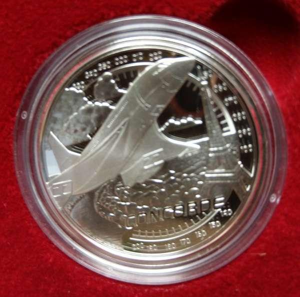 ANK Nr. 48 20 EURO Schneller als der Schall 2020 Silber PP