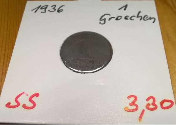1 Groschen 1936