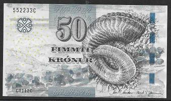 Foroyar Inseln – 50 Kronur () (Pick 24) Erh. UNC