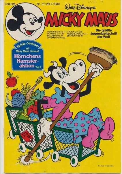 Micky Maus Nr. 31/1980