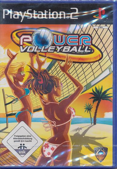 Ps 2 Spiel Power Volleyball Neu