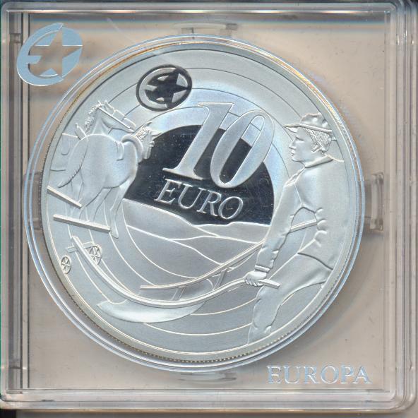 10 Euro Irland Eire 2009 PP IRELAND REPUBLIK Silber Ag Europa Stern