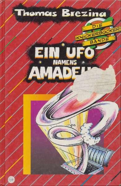 """Die Knickerbocker Bande Nr. 02 """" Ein Ufo Namens Amadeus """" 1990"""
