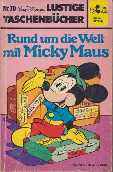LTB Band 070 Rund um die Welt mit Micky Maus eckiges Logo Nummer oben