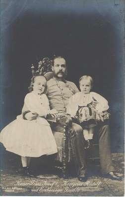 Kaiser Franz Josef Kronprinz Rudolf Erherzogin Gisella
