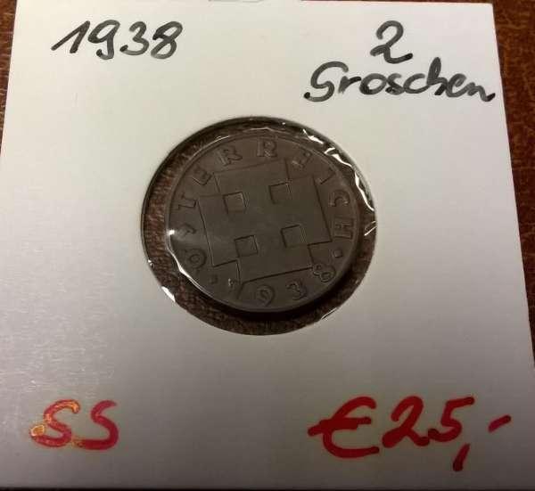 2 Groschen 1938