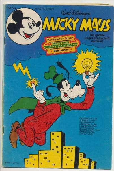 Micky Maus Nr. 10/1977