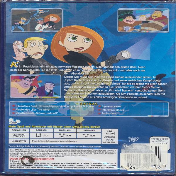 Kim Possible Die Geheimen Akten DVD