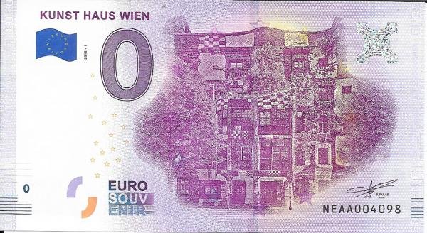 ANK.Nr.06 Kunst Haus Wien Unc 0 Euro Schein 2018 -1