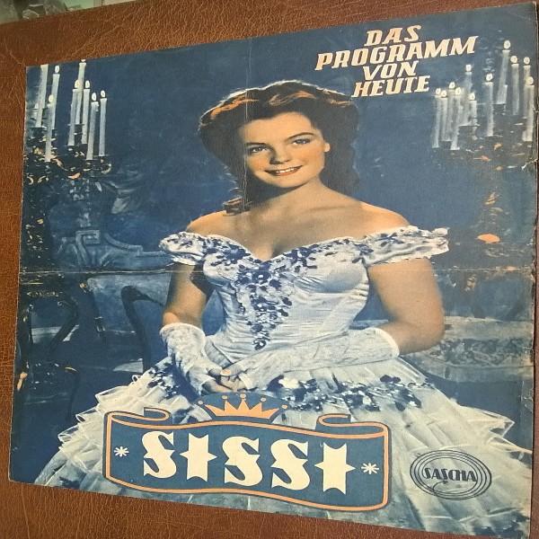 Das Programm von Heute . Sissi Nr. 419 1955